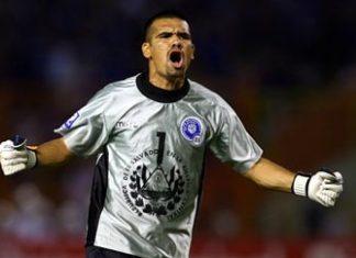 El Salvador goalkeeper Miguel Montes