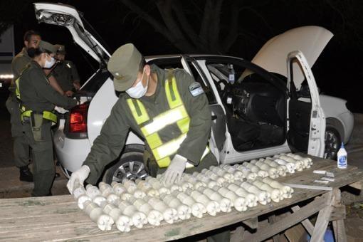 A cocaine seizure in Salta