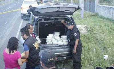 Guatemala police seize the $1.4 million