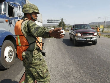 Military forces took over port of Lazaro Cardenas