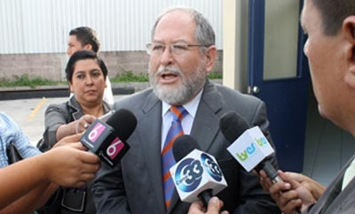 El Salvador Security and Justice Minister Ricardo Perdomo
