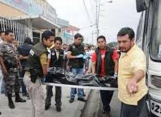 Man killed in an Ecuador bus robbery