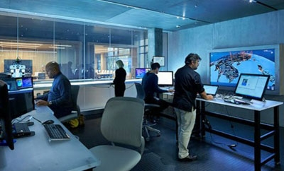 Microsoft's Cybercrime Center in Redmond, Washington
