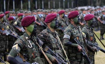 Guatemalan Special Forces unit the Kaibiles