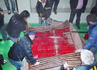 Argentine authorities recover 114kg of cocaine