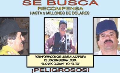 Who are Mexico's 122 most wanted criminals?