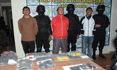 Alleged kidnappers of 13-year-old in Bolivia