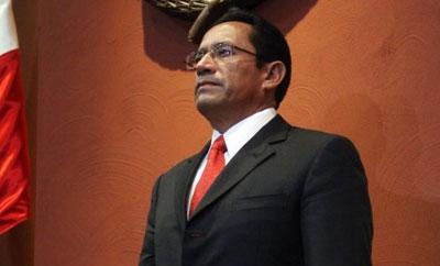 Michoacan Public Security Secretary Alberto Reyes Vaca