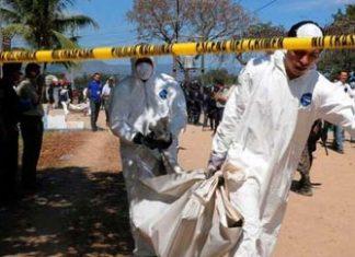 A murder scene in Mexico