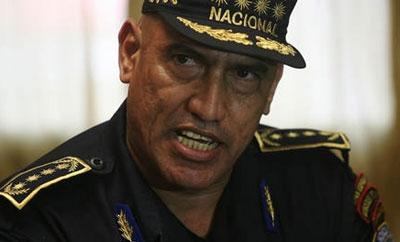 Police Chief Juan Carlos Bonilla,