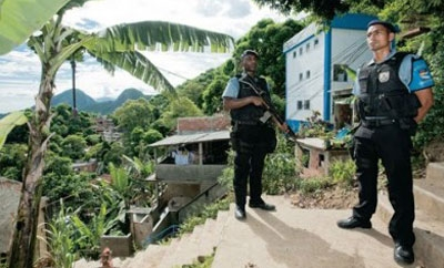 UPP officers in Rio de Janeiro