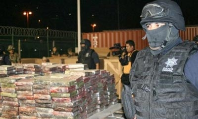 Mexico's cocaine seizures have risen slightly in 2013