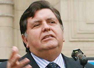 Peru's 2-time ex-president Alan Garcia