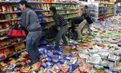 Looting has spread across Argentina