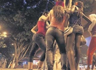Underage sex workers in Medellin