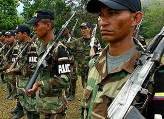 AUC paramilitaries