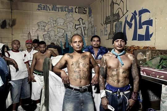 Mara gang members