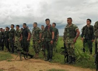 Members of the ERPAC demobilize in 2012