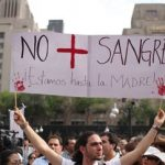 """No more blood"": Mexicans protest drug war violence"