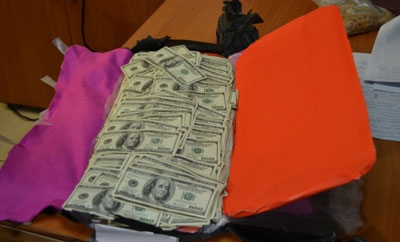 Some of the cash seized in Panama
