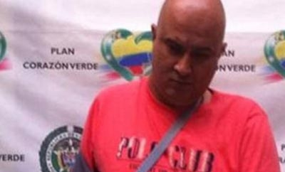 Alleged arms trafficker  Gustavo Velasquez