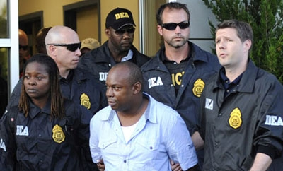 "Christopher ""Dudus"" Coke in DEA custody"