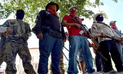 Members of Michoacan self-defense militias