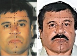 Young 'Chapo' vs old 'Chapo' photo analysis by Mexico govt