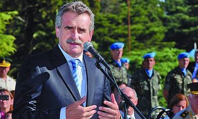 Argentina's Defense Minister Agustin Rossi