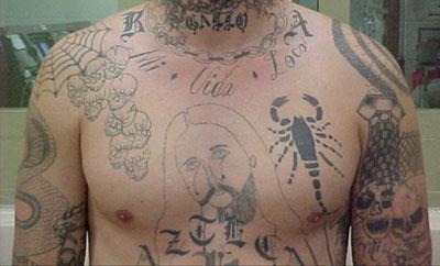 Barrio Azteca member