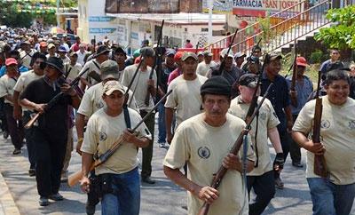 Vigilantes in Guerrero