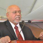 Guyana's President Donald Ramotar