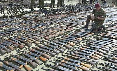 Honduras has 1.2 million unregistered guns