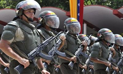Venezuela's Bolivarian National Guard