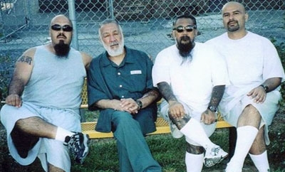 Imprisoned members of the Mexican Mafia gang