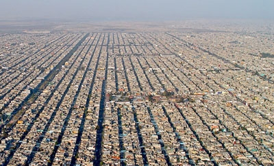 Mexico City's urban sprawl offers lucrative criminal opportunities