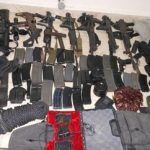 Arms seized from a Haitian kidnapping gang