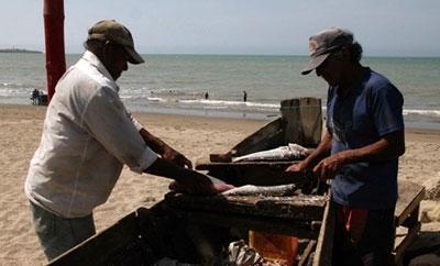 Fisherman in Manabi, Ecuador