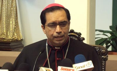 Archbishop of San Salvador Jose Luis Escobar