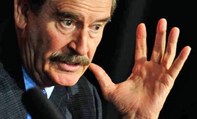 Ex-Mexico President Vicente Fox
