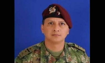 Lieutenant Colonel Robinson Gonzalez del Rio