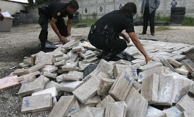 Honduras seized 1.7 tons of cocaine in 2013