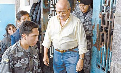 Cesar Fernandez, disgraced ex-governor of Manabi