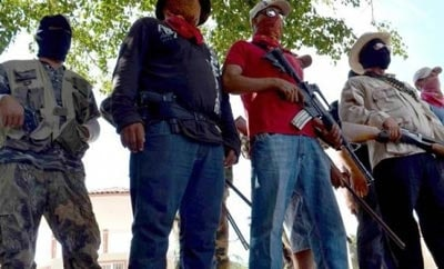 Rogue vigilantes are growing in power in Michoacan