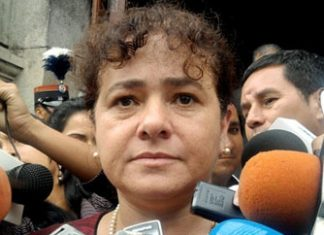 Guatemala's outgoing Attorney General Claudia Paz y Paz
