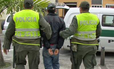 Only 15 percent of arrests in Colombia result in imprisonment