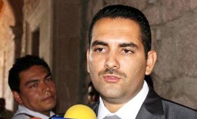 Arrested municipal president Uriel Chavez Mendoza