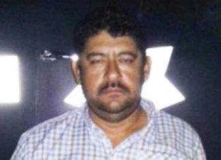 Arrested leader of Los Rojos Antonio Reina Castillo