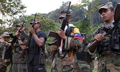 The FARC are deeply involved in drug trafficking