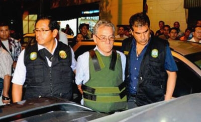 Peru security forces arrest Alfredo Crespo